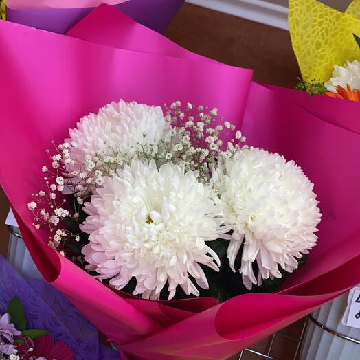 Букет хризантема антонов