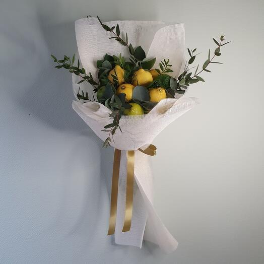 """Букет из лаймов и лимонов """"Mochito"""""""