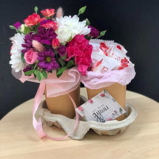 Раффаэлло+цветы