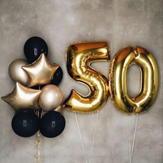Сет шаров «50»