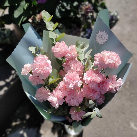 Розовый диантус