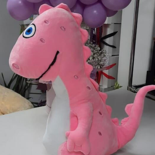 Игрушка Динозаврик с пледом