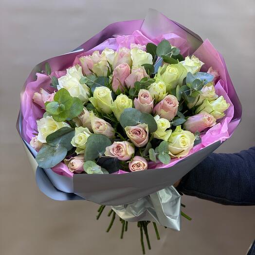 Букет сборный из роз