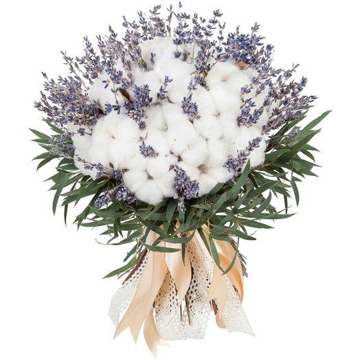 Букет Хлопковые поля: букеты цветов на заказ Flowwow