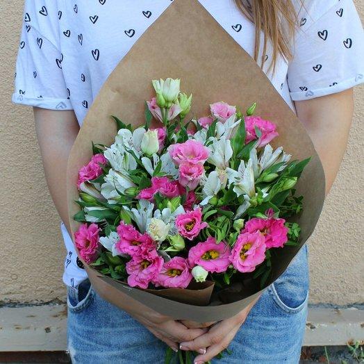 Букет нежных цветов.: букеты цветов на заказ Flowwow