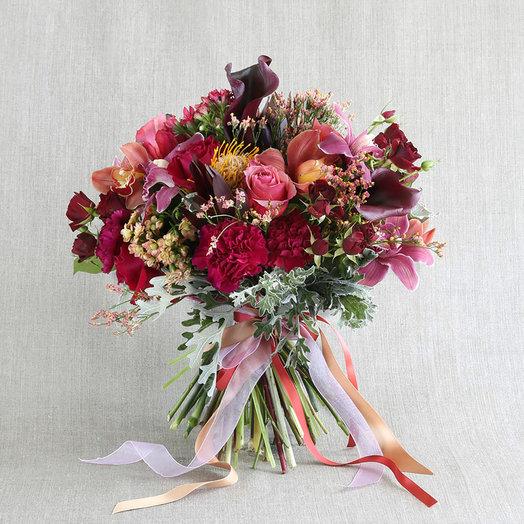 """Большой букет """"Мистическая ода"""": букеты цветов на заказ Flowwow"""