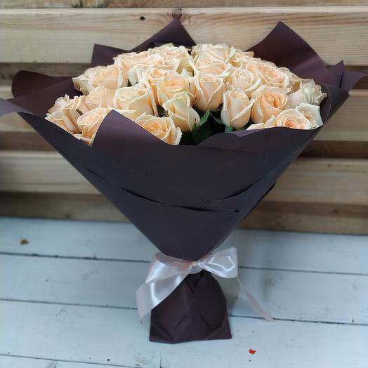 51 кремовая роза