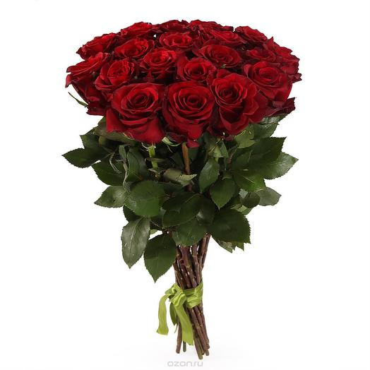 Букет красной розы: букеты цветов на заказ Flowwow