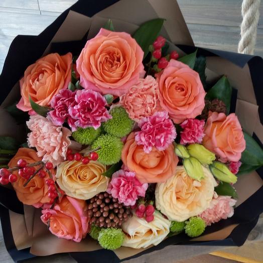 Ягодка: букеты цветов на заказ Flowwow