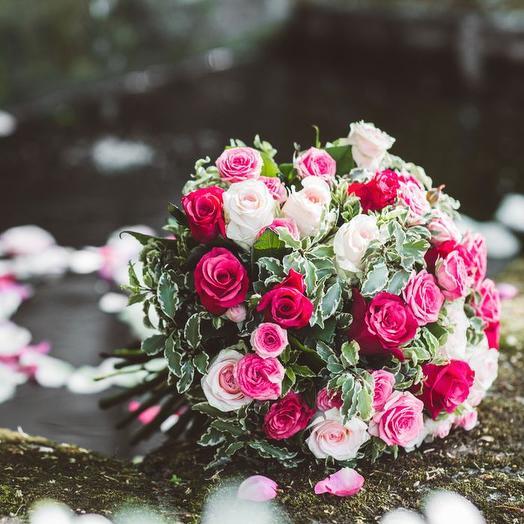 Букет из кенийских роз: букеты цветов на заказ Flowwow