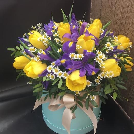 """Шляпная коробка """"Пришла Весна"""""""