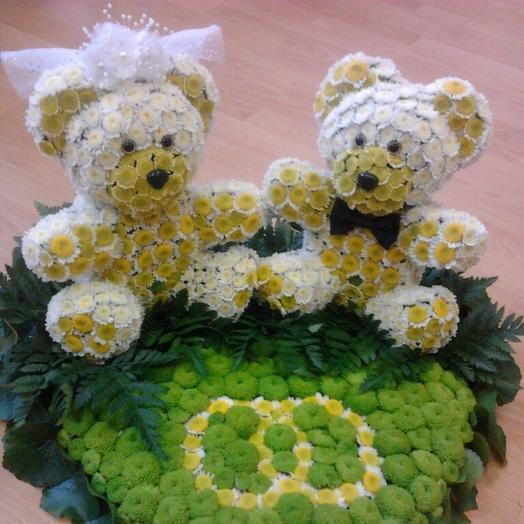 Жених и невеста: букеты цветов на заказ Flowwow