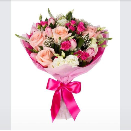 Нежное дыхание: букеты цветов на заказ Flowwow