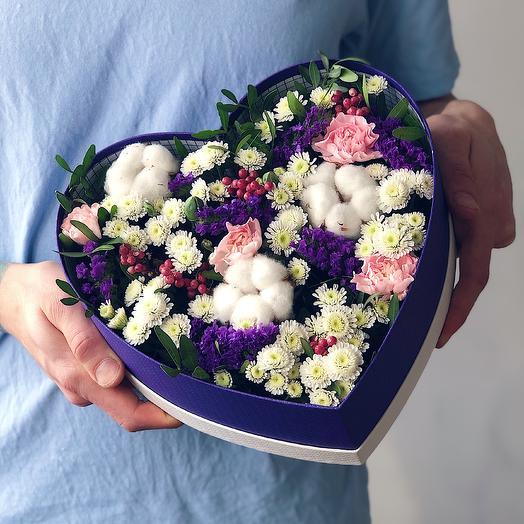 Heart 20 Большое: букеты цветов на заказ Flowwow