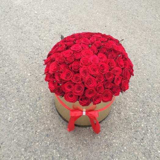 85 роз: букеты цветов на заказ Flowwow
