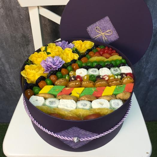 Коробка сухофруктов Мунлайт: букеты цветов на заказ Flowwow