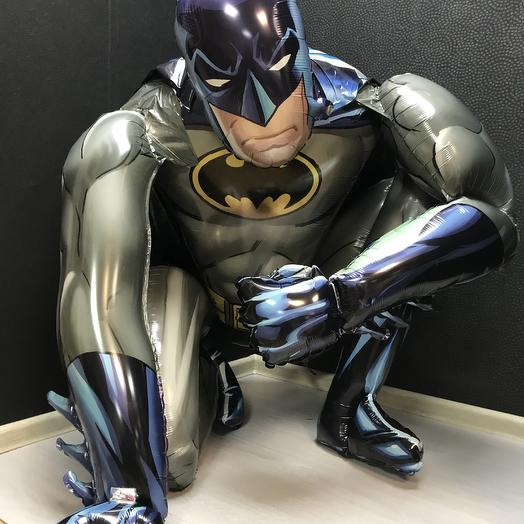 Бэтмен на привале: букеты цветов на заказ Flowwow