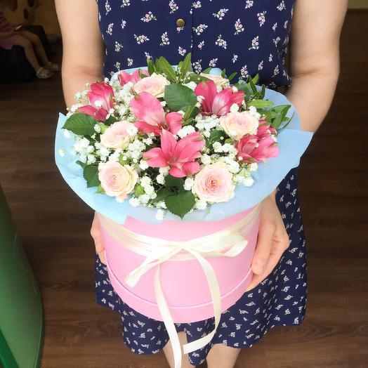 «Комплимент»: букеты цветов на заказ Flowwow