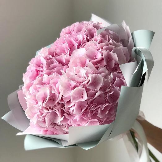 Облачко гортензий: букеты цветов на заказ Flowwow