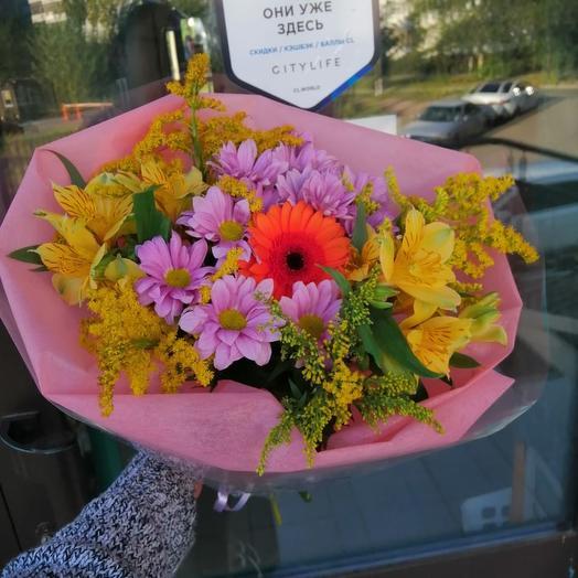 Полевое чудо: букеты цветов на заказ Flowwow