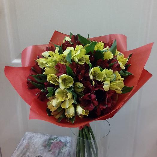 Альстромерии (15 шт.): букеты цветов на заказ Flowwow