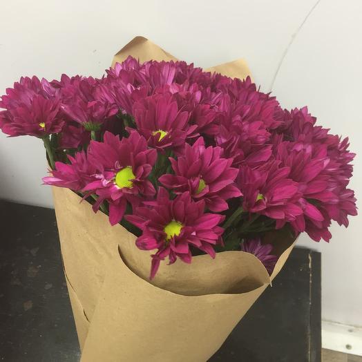Букет хризантем 🌸: букеты цветов на заказ Flowwow
