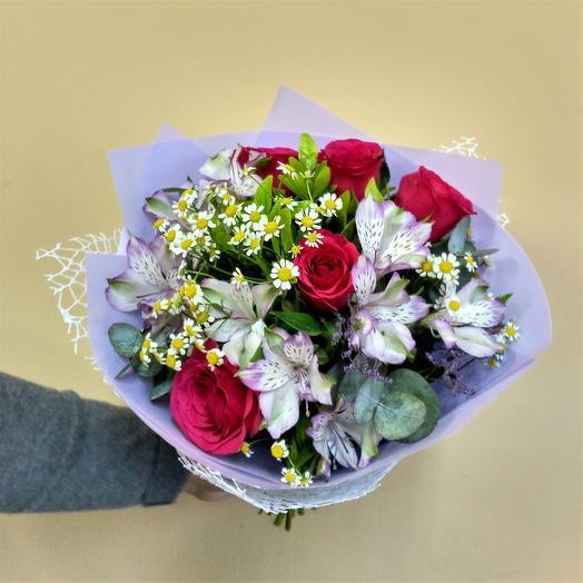 """Букет """"Праздничный"""": букеты цветов на заказ Flowwow"""