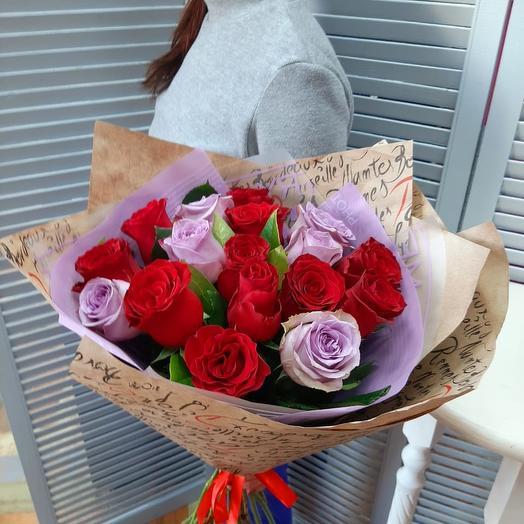 Для самой стильной: букеты цветов на заказ Flowwow
