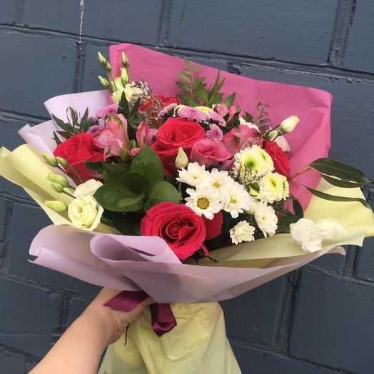 Букет «Яркий»: букеты цветов на заказ Flowwow