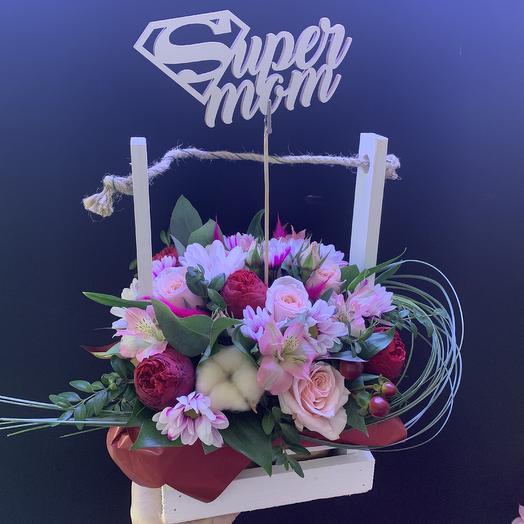 Super mom: букеты цветов на заказ Flowwow