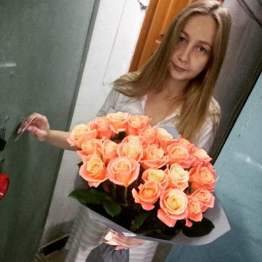 Мисс Китти: букеты цветов на заказ Flowwow