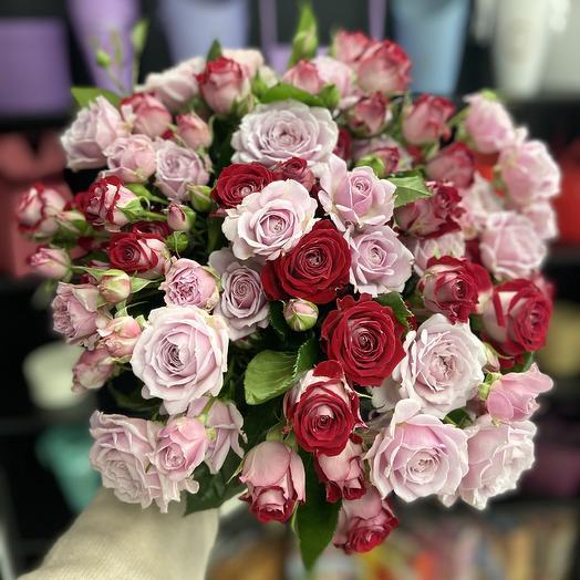 Аромат счастья: букеты цветов на заказ Flowwow