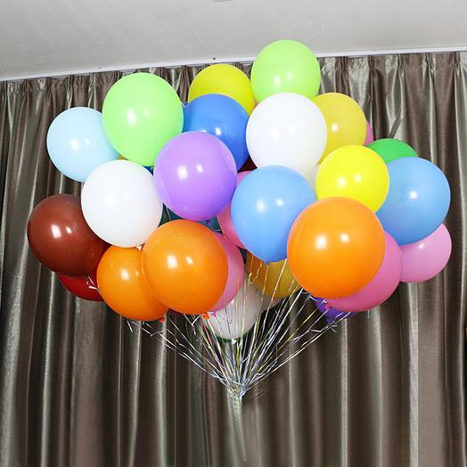 Воздушные шары: букеты цветов на заказ Flowwow