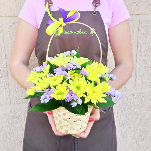 Корзинка сборная: букеты цветов на заказ Flowwow