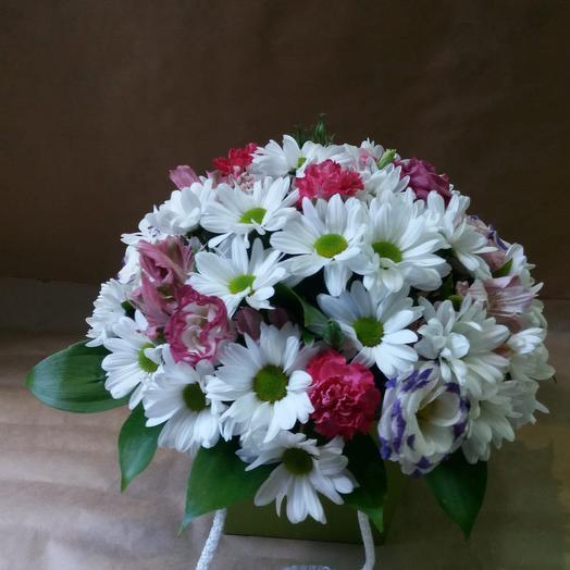 Композиция «Тёплые мечты»: букеты цветов на заказ Flowwow