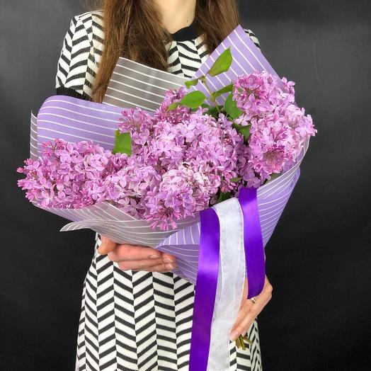 Букет сирени: букеты цветов на заказ Flowwow