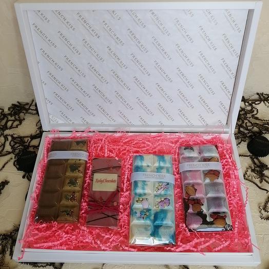 Набор Счастье в коробке Четыре вкуса шоколада