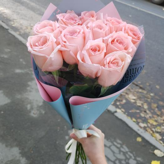 Букет из 11 нежных роз