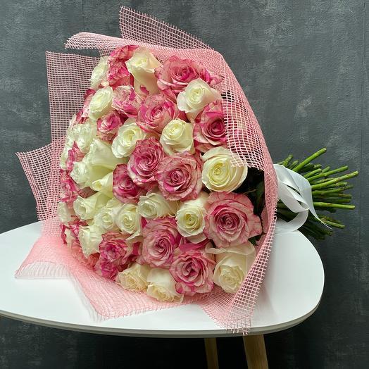 51 ароматных роз Эквадорские