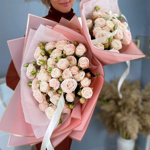 Пионовидные розы Bombastic
