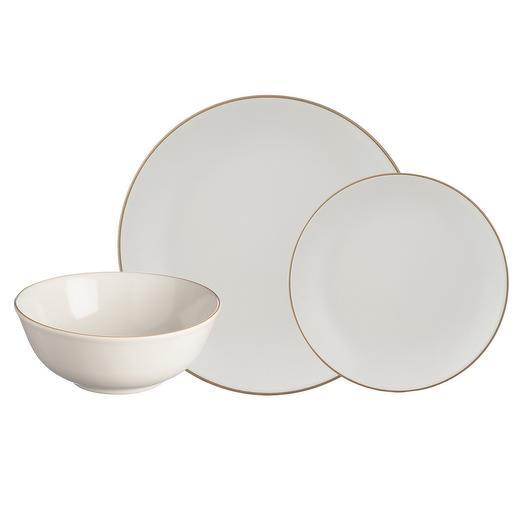 Набор обеденной посуды classic 12 предметов кремовый  Mason Cash 2001.898