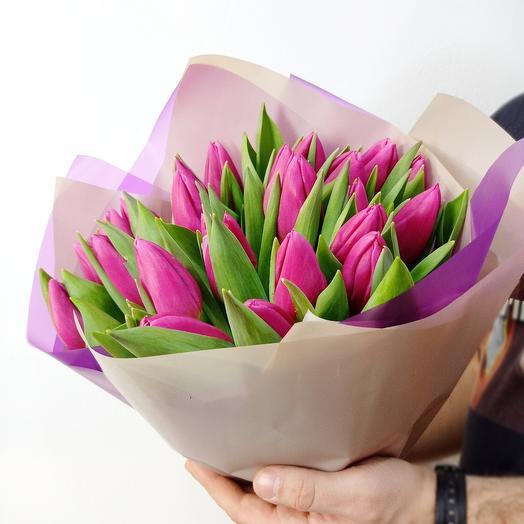 25 изысканных тюльпанов
