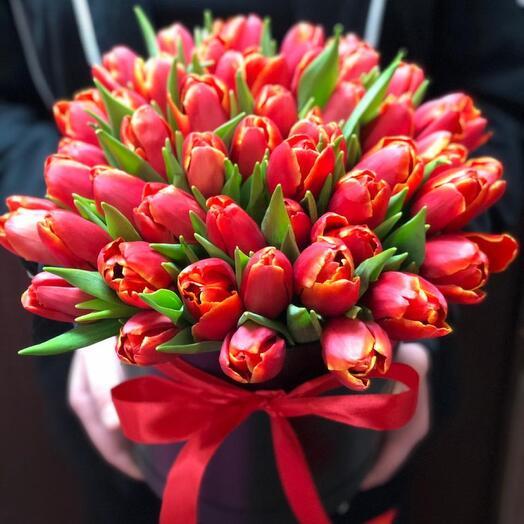 Коробочка Тюльпаны изыск