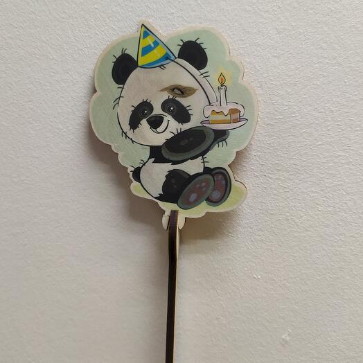 """Топпер """"Панда"""""""