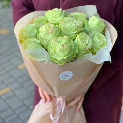 Букет роз Лемонад