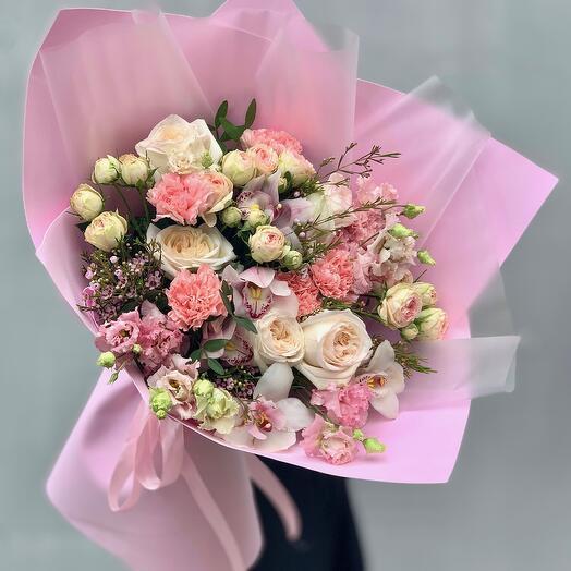 """""""Bouquet with taste"""" XL pink"""