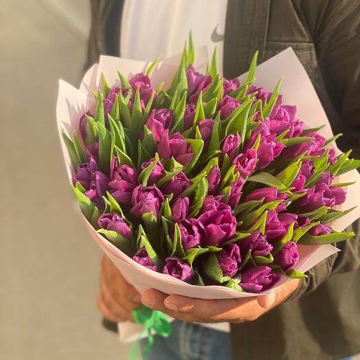 Букет из тюльпан