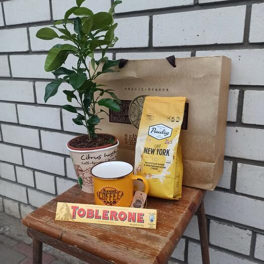 """Набор подарочный """"Кофе с лимоном"""""""