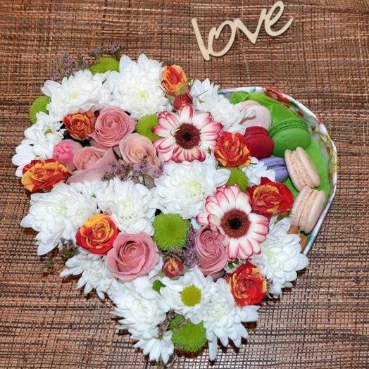 Сладкое счастье: букеты цветов на заказ Flowwow