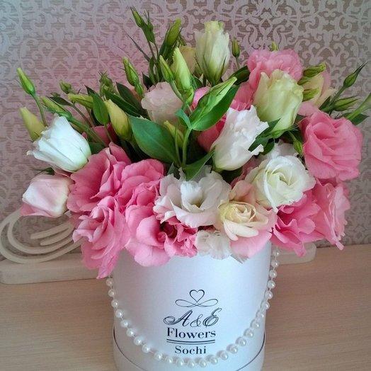 Композиция Розовый сапфир: букеты цветов на заказ Flowwow